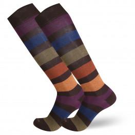 """""""Clayton"""" - calze lunghe in caldo cotone fantasia"""