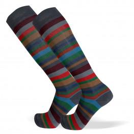 """""""Chalkville"""" - calze lunghe in caldo cotone fantasia"""