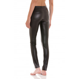 LEGGINGS DONNA IN ECO-PELLE