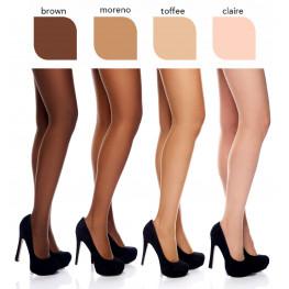 """""""Cosmetic 10"""" - Collant Ultra-Velati con effetto """"make-up"""", per Gambe Perfette!"""
