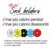 Sock Ring Holders - Accoppia Calzini - Mai più calzini persi nel bucato!!! - Confezione da 5 pezzi