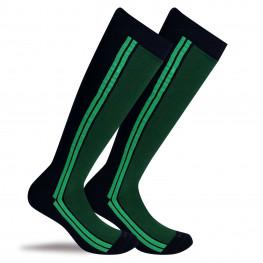 """""""Kingston"""" - calze lunghe in caldo cotone fantasia"""