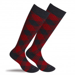 """Addison"" - calze lunghe in caldo cotone fantasia"