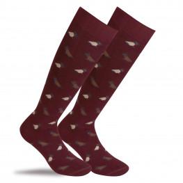 """""""Lichfield"""" - calze lunghe in caldo cotone fantasia"""