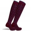 """""""Abbeville"""" - calze lunghe in caldo cotone fantasia"""