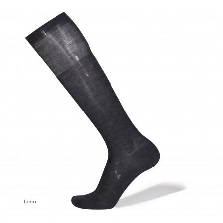 """BERLIN"" - LANA MERINO'S & SETA - calze da uomo lunghe"